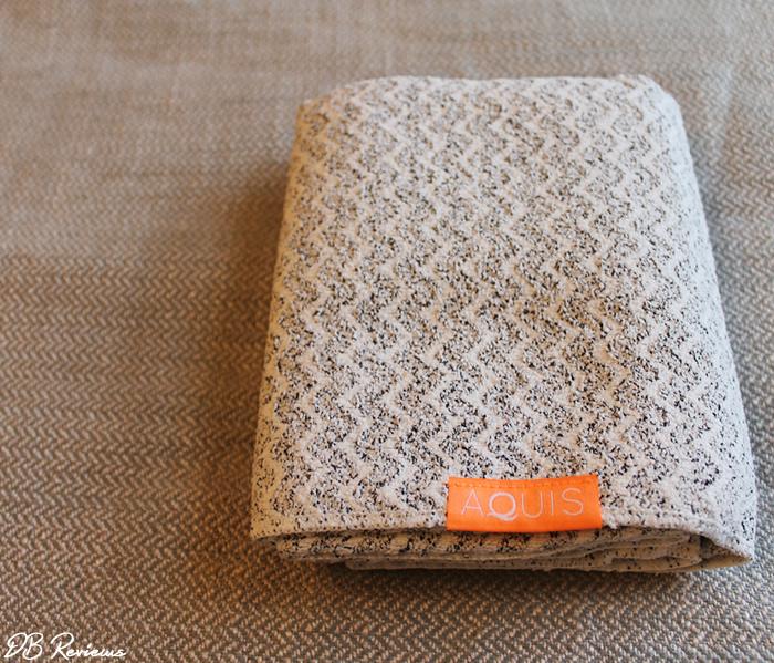 Aquis Chevron LuxeHair Towel