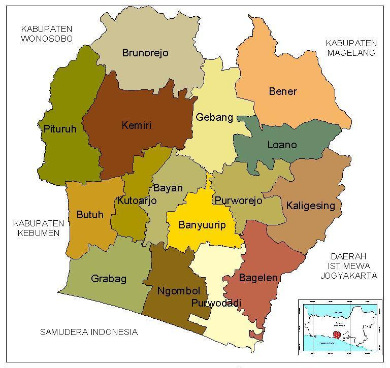 Kecamatan Loano Kabupaten Purworejo - KemejingNet