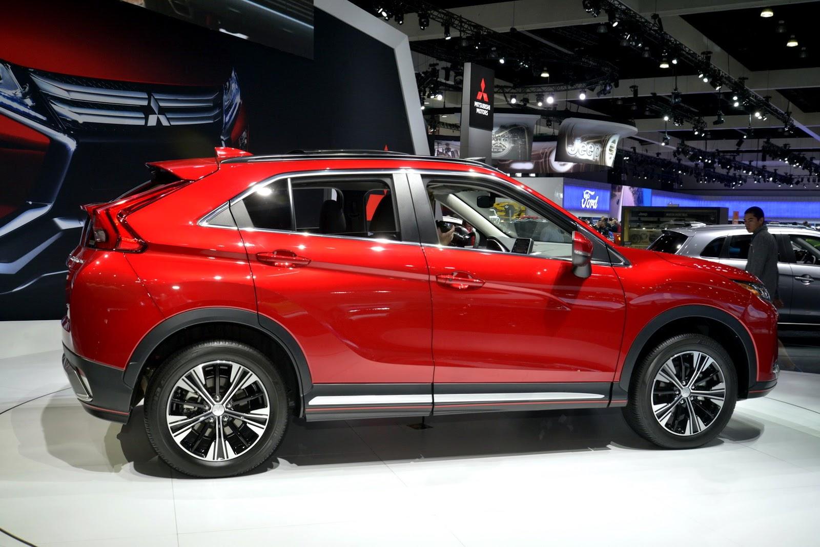 Unlock Car Door >> New Mitsubishi Eclipse Cross Lands In LA With A $23,295 ...