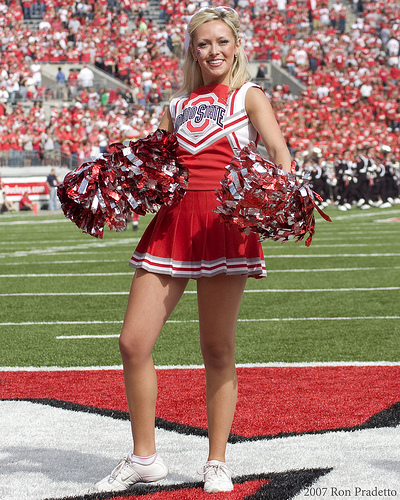 Talk Of The Town Ranking The Cheerleaders Of College