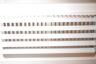 Web Filter installed into AC Vent register