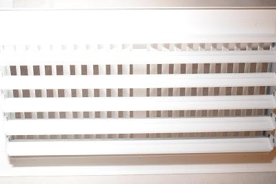 Web Filter installed into AC Vent register