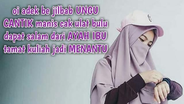 Lagu Adek Jilbab Ungu