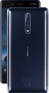Nokia 8 body design