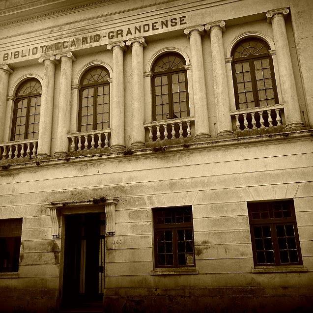 Biblioteca Riograndense, em Rio Grande