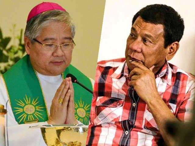 "Bishop Socrates Villegas, Binanatan Si P. Duterte: "" Hindi Ka Bayani! Mamatay Tao Ka!"""