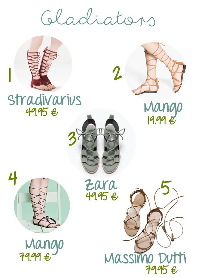 GLADIATORS o ROMANAS, las sandalias que llevarás este verano