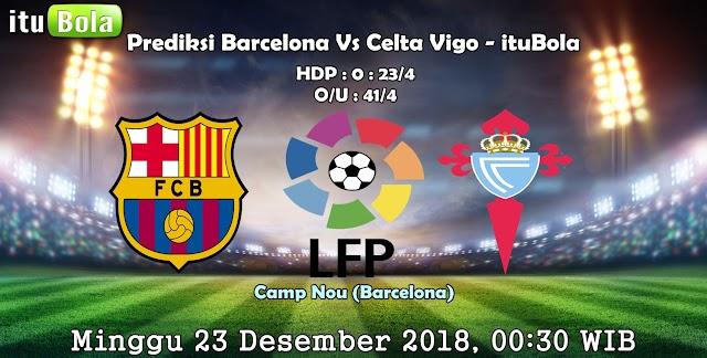 Prediksi Barcelona Vs Celta Vigo - ituBola