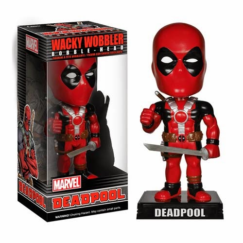 Deadpool Wacky Wobbler Marvel Bobble Head by Funko