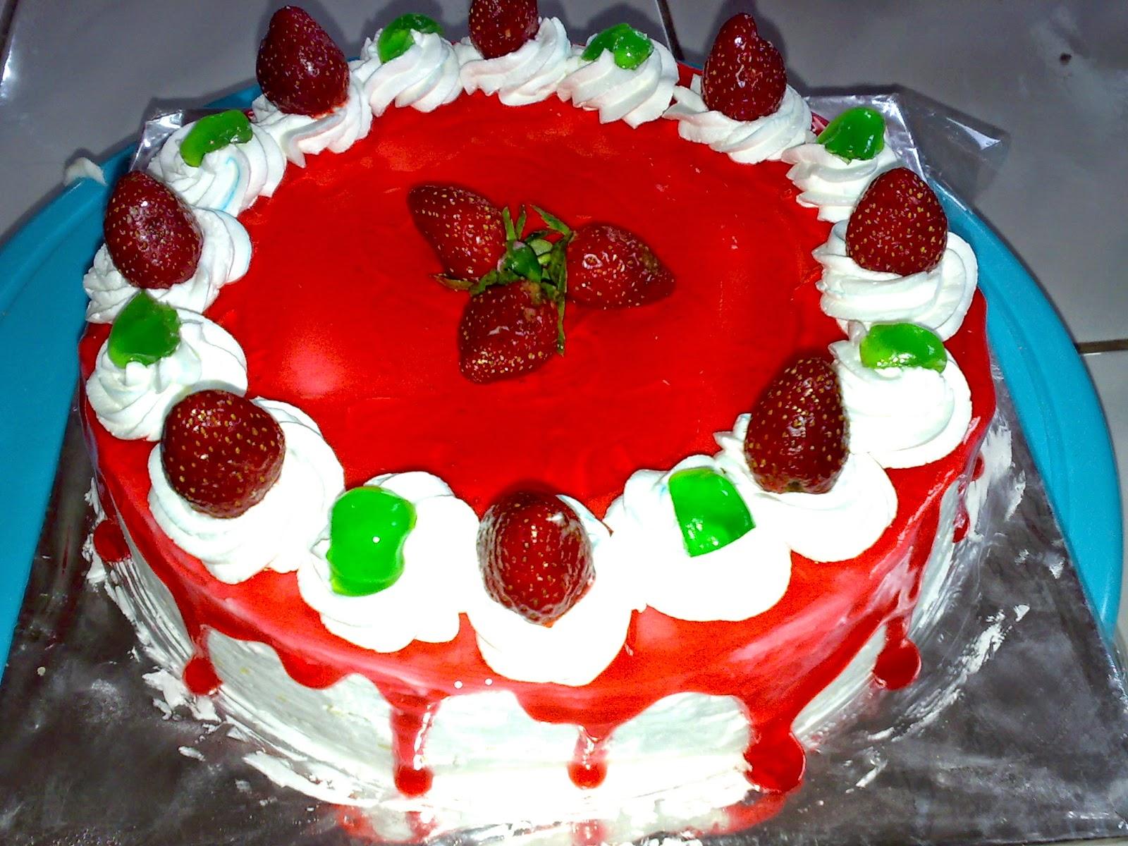 Strawberry Cheese Cake Selai