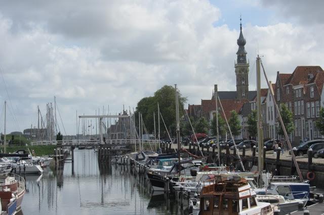 Verre - haven met koopmanshuizen