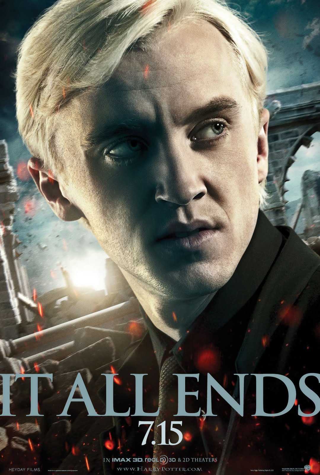 This New Poster Of Harry Potter And The Deathly Hallows Part 2 Features Draco Malfoy