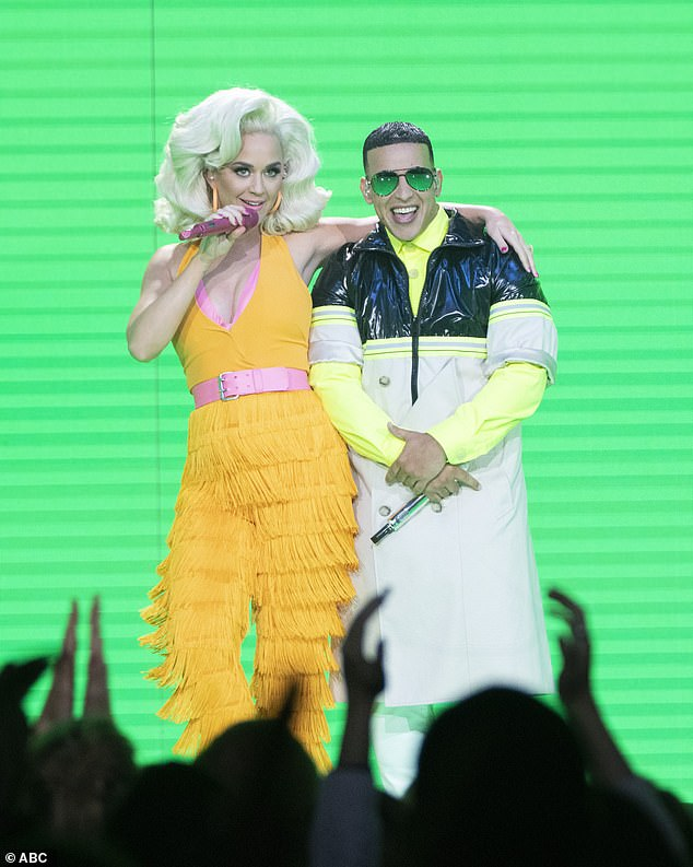 Katy Perry makes a fierce impression of her own as she performs at the ABC show's finale