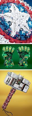 Cosas recicladas de los Avengers