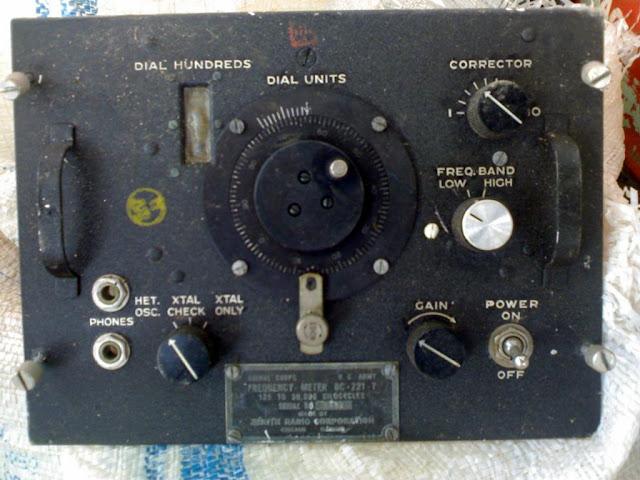 Zentih BC-221 Frequency Meter