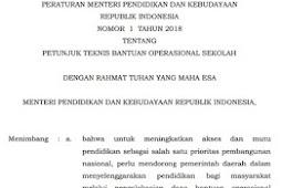 Juknis BOS 2018 Pdf Jenjang SD, SMP, SMA dan SMK