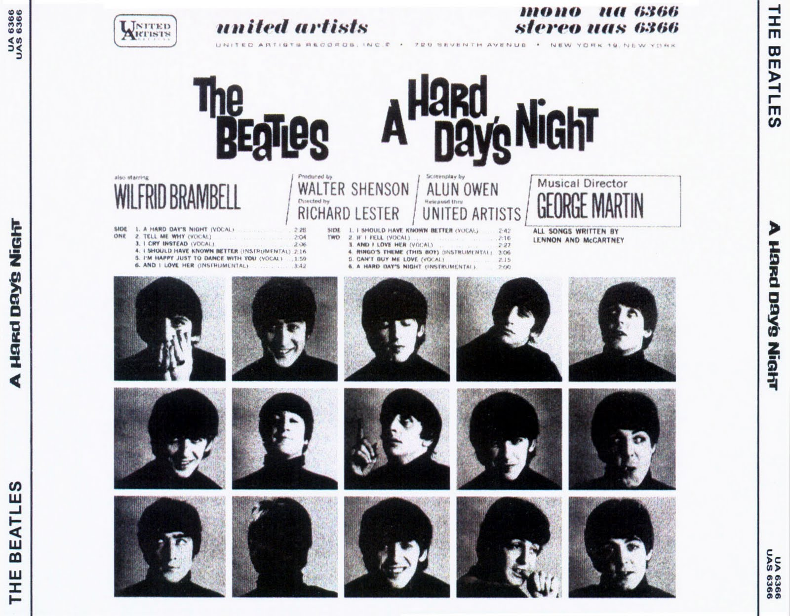 The Be・・・・: A Hard Day's Night (United Artists