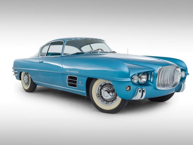 Dodge Firearrow 1950s American classic concept car