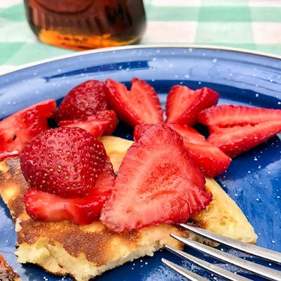 pancakes, camping pancakes, pancake mix, homemade pancakes