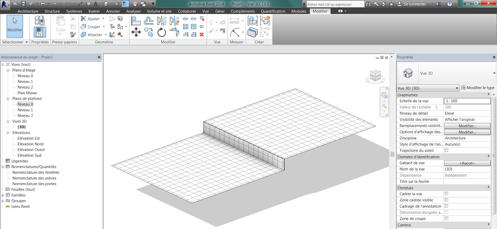 revit m mo revit 2014 remont e de plafond verticale. Black Bedroom Furniture Sets. Home Design Ideas