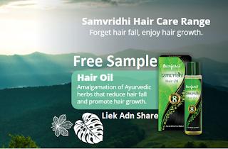 Free Sample of Hair Oil From Banjaras
