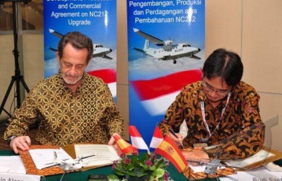 Kerjasama PT DI dan Airbus Military
