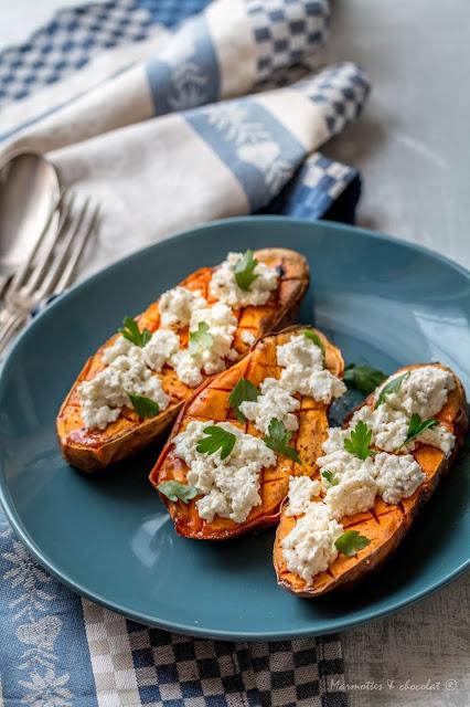 Сладки картофи със сумак / Patates douces au sumac