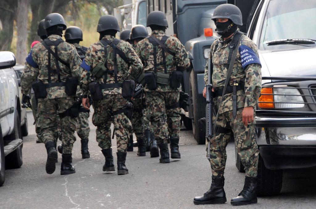 Marina se hará cargo de la seguridad en el sur de Veracruz