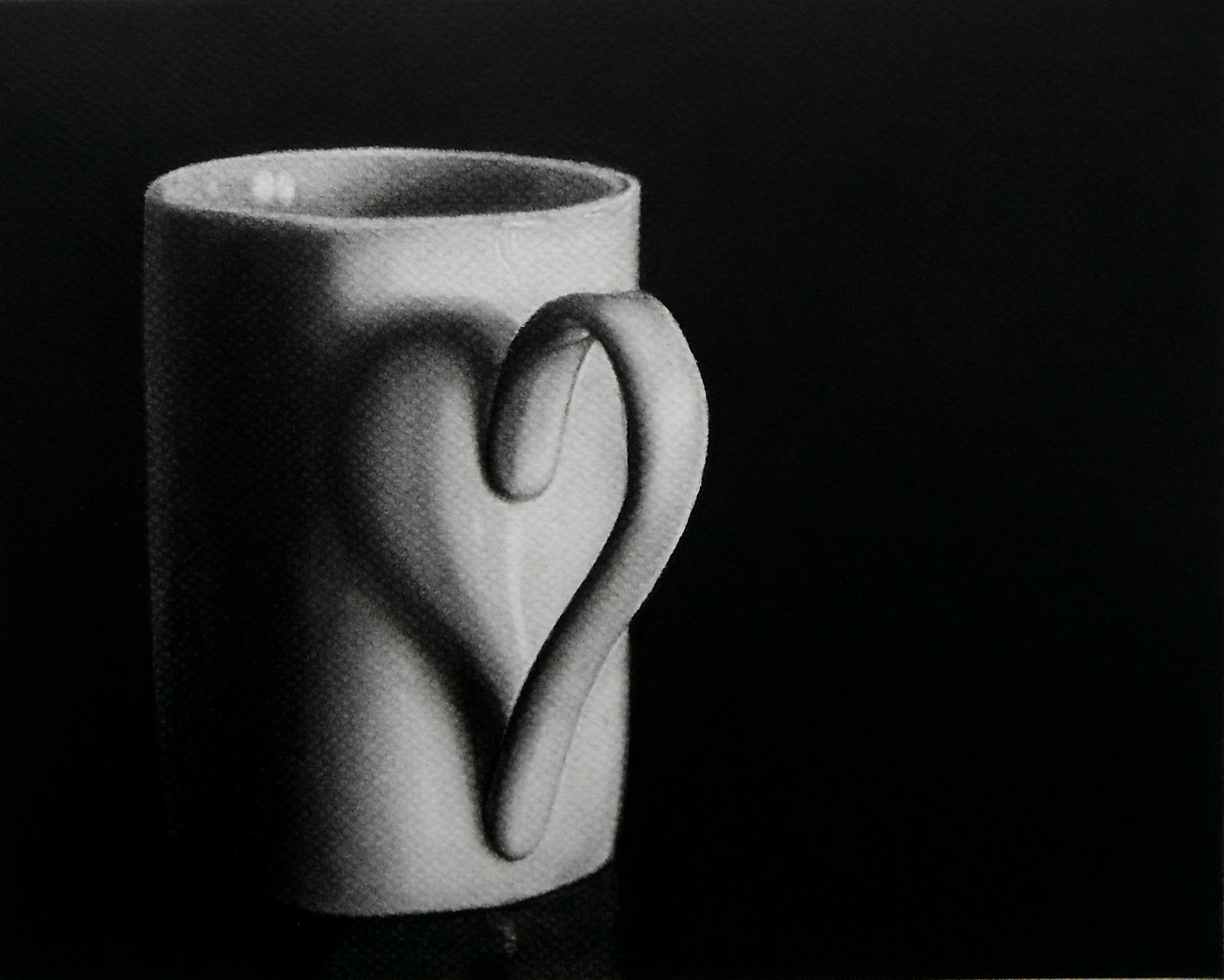 12-Heart-Coffee-Cup-Norlan-Vilchez-Cultural-Diversity-Drawings-with-Charcoal-and-Graphite-www-designstack-co