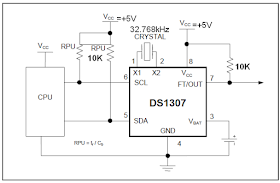 circuits4you com: DS1307 RTC Interfacing with AVR microcontroller