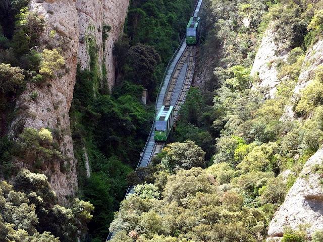 Funicular de Sant Joan em Montserrat