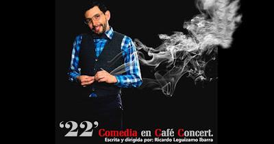 '22' COMEDIA EN CAFE CONCERT (TEATRO) 1