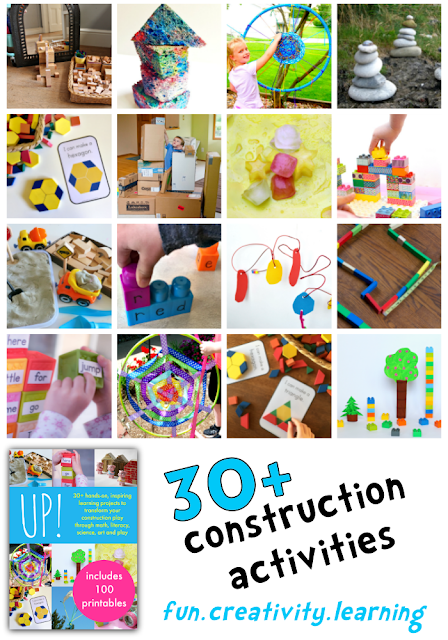 Up! eBook. 30+ creative, maths, science and literacy construction and art based activities.