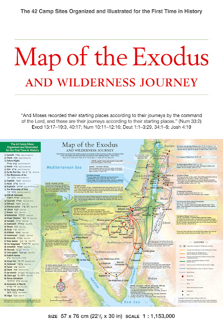 http://www.tuttlepublishing.com/authors/park-abraham/map-of-the-exodus-and-wilderness-journey