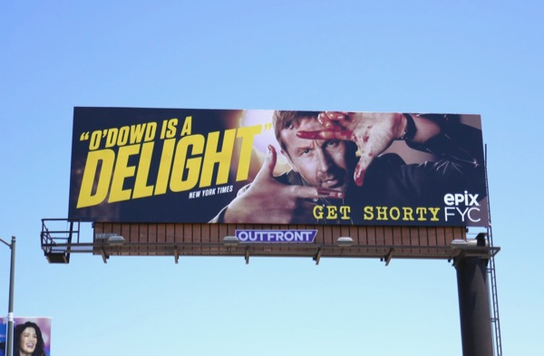 Get Shorty O'Dowd season 1 Emmy FYC billboard