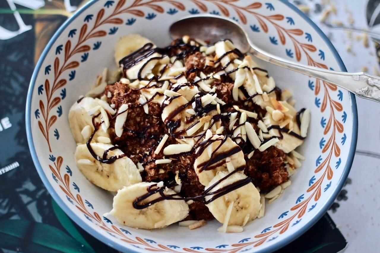 Schoko-Bananen-Porridge Rezept