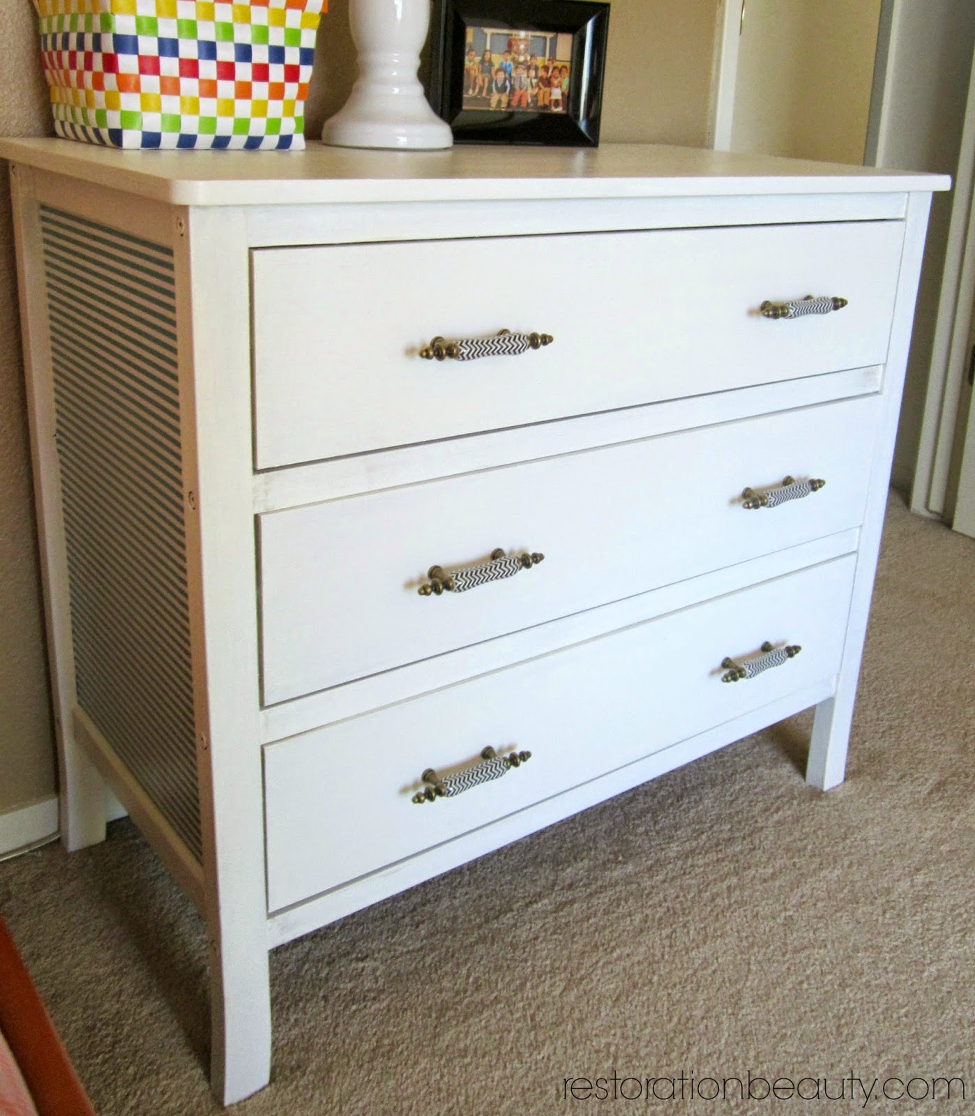 Restoration Beauty: Dresser Makeover Using DIY Chalk Paint