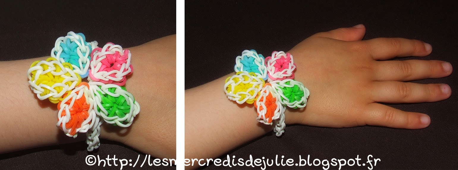 Comment faire un bracelet élastique sans machine YouTube