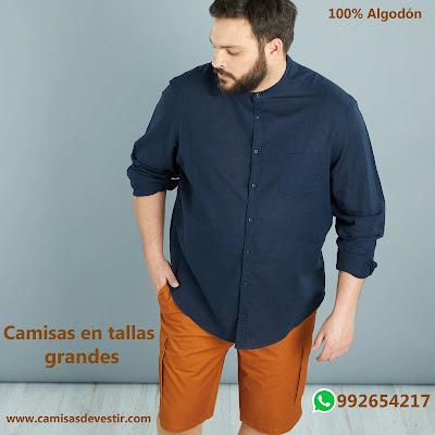 Camisas tallas grandes Cusco