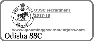ossc recruitment 2017-2018