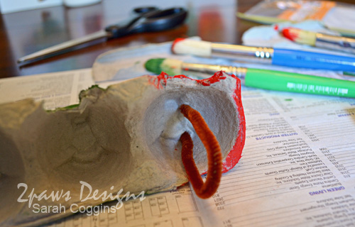 Fuzzy Caterpillar Arts And Crafts