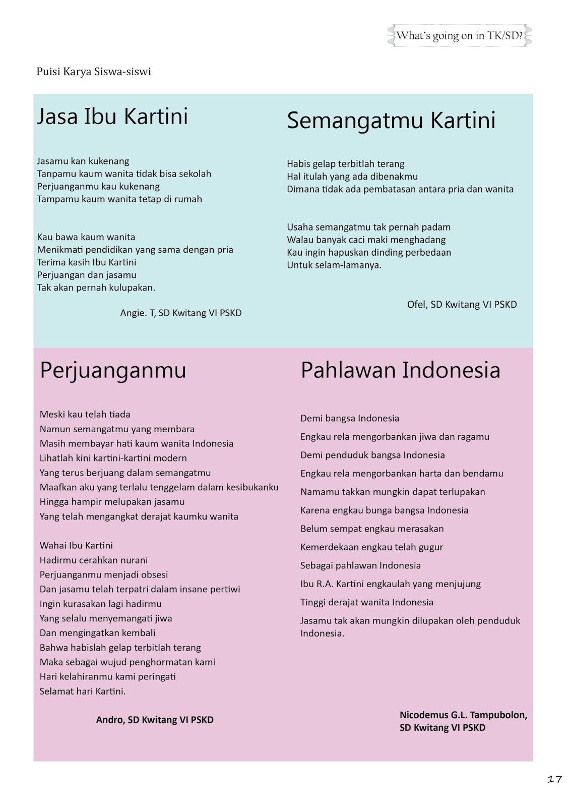 Puisi Tentang Liburan Sekolah