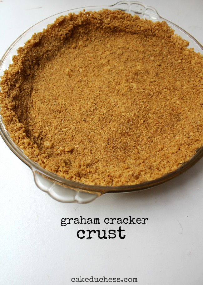 Olive Oil Graham Cracker Crust