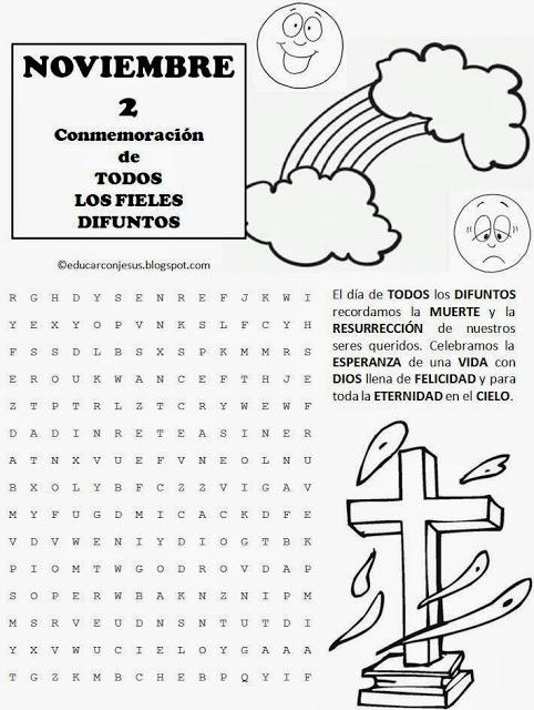 De Los Dia Muertos Crucigrama