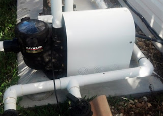 Installing an Automated Pool Motor Cover for your over the ground Pool Motor