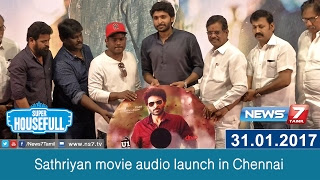 Sathriyan movie audio launch in Chennai