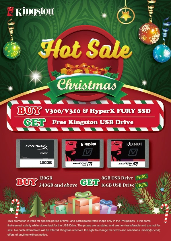 Kingston Christmas Hot Sale