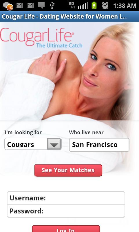 Cougar dating site nyc