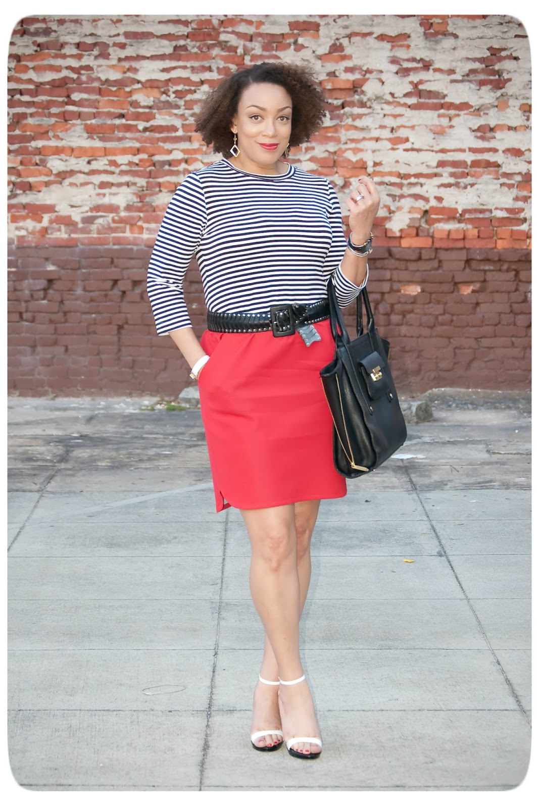 Sporty Chic Separates made from Mood Fabrics -- Erica B's DIY Style!