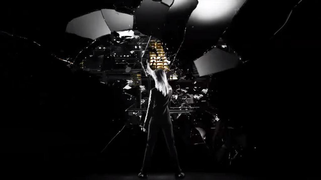 modello e modella Paco Rabanne Lady Million 2016